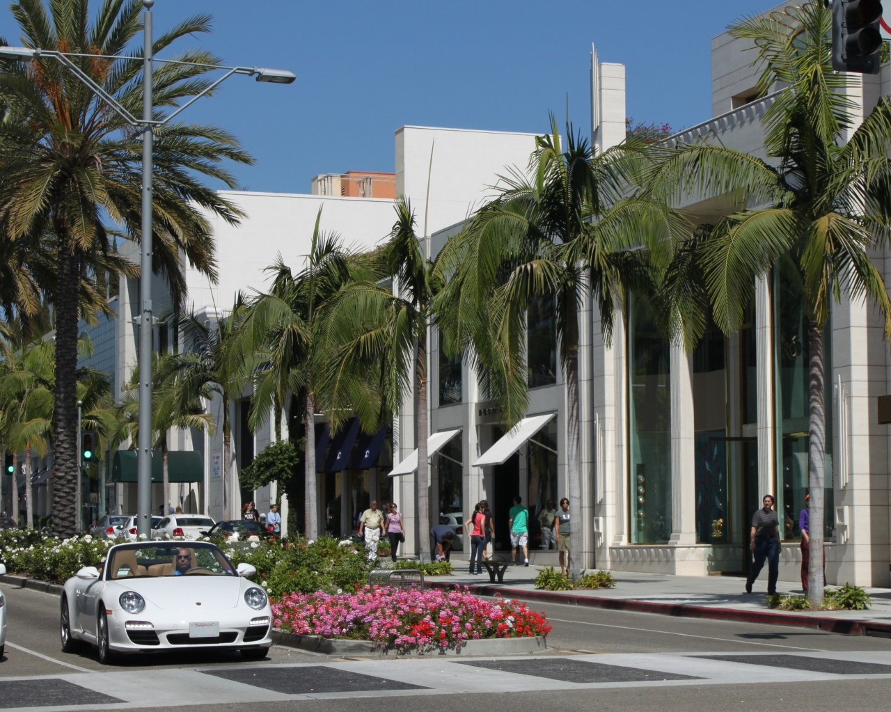 A glimpse into Rodeo Drive, Beverly Hills